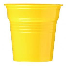Vaso de Plástico PS Amarillo 80ml Ø5,7cm (50 Uds)