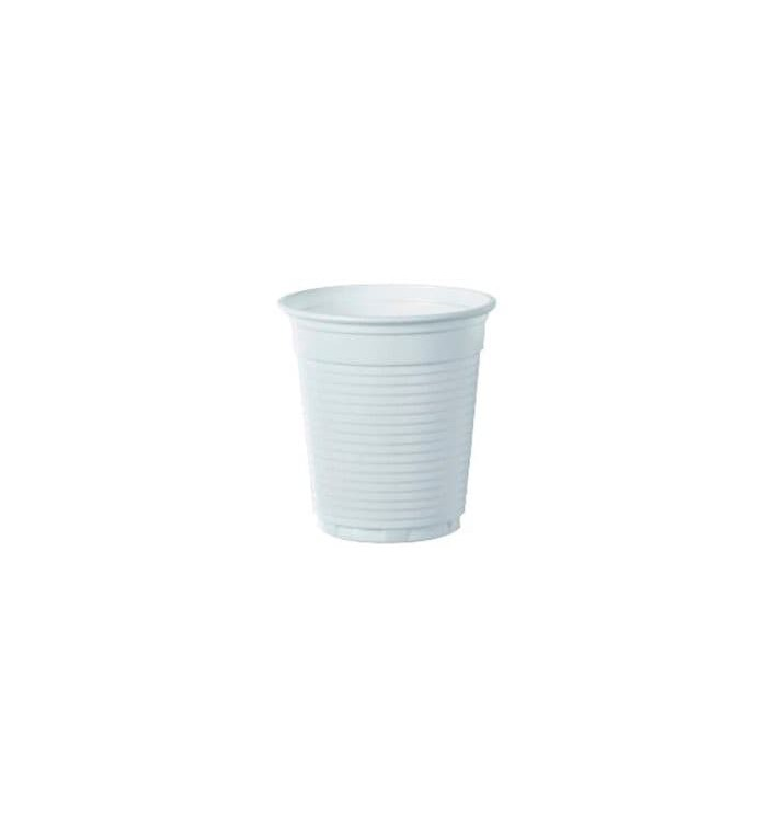 Vaso de Plastico PS Vending Blanco 160 ml (100 Unidades)