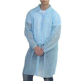 Bata Industria TST PP con Velcro y Sin Bolsillo Azul XXL (1 Ud)