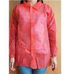 Bata Cadete TST PP 35gr Con Velcro Sin Bolsillo Rojo (1 Ud)