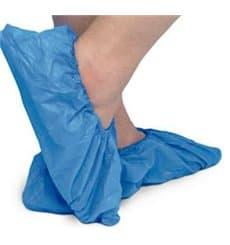Cubrezapatos TST de PP Azul con Suela Reforzada CPE Azul (50 Uds)