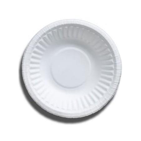 Bol de Cartón Blanco Biodegradable 250ml (50 Uds)