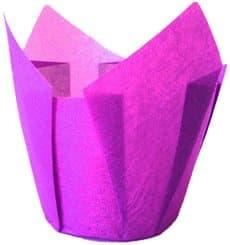 Cápsula Muffin Tulipa Ø50x42/72 mm Violeta (135 Uds)