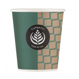 Vaso Carton Cupmatic 9Oz/280ml Ø8,0cm (50 Uds)