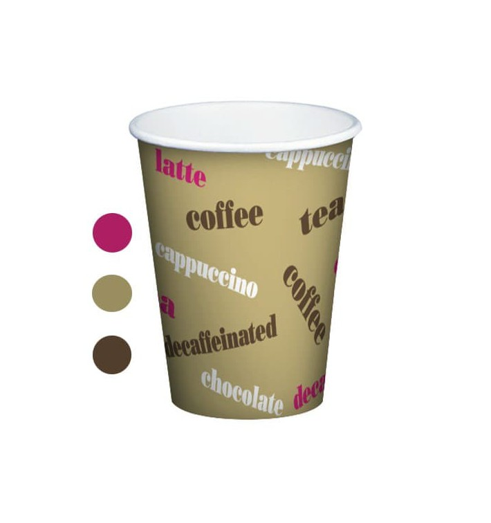 Vaso Carton Cupmatic 8Oz/210ml Ø7,0cm (100 Uds)