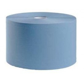 Bobina Industrial 2C Azul 4 Kg Gofrada (2 Uds)