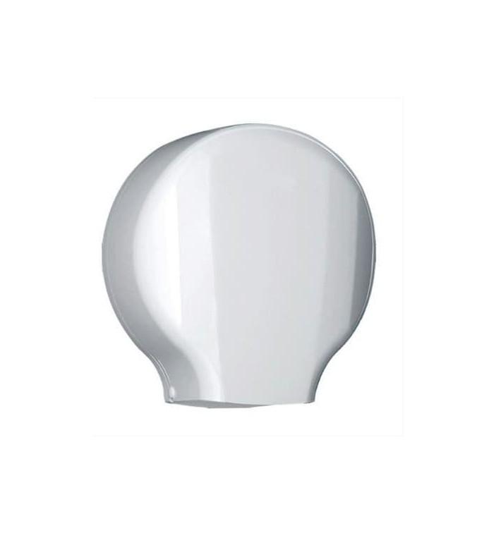 Dispensador Papel Higiénico 300m ABS Blanco (1 Ud)
