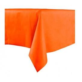 Mantel no Tejido Novotex Cortado 100x100cm Naranja (150 Uds)