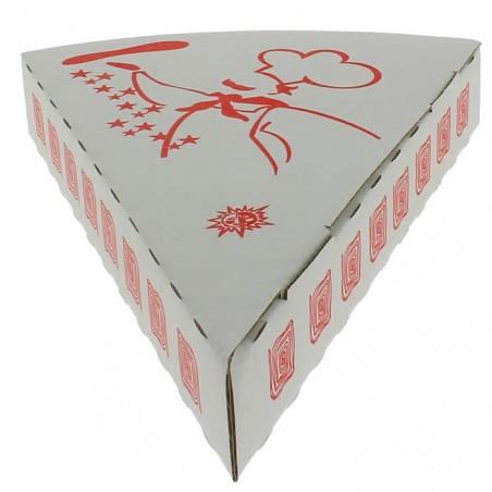 Cuña Porcion Pizza para llevar (25 Uds)