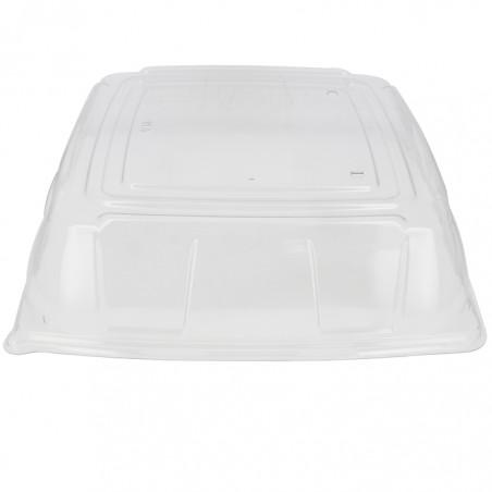 Tapa Plastico PET Transparente Bandeja 36x36cm (5 Uds)