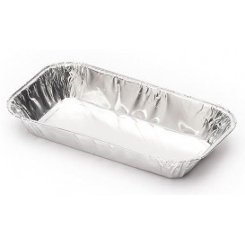 Bandeja de Aluminio 228x128mm 425ml (125 Uds)