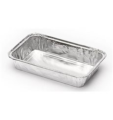 Bandeja de Aluminio 185x120mm 470ml (100 Uds)