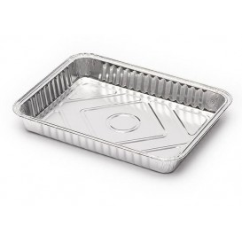 Bandeja de Aluminio 226x175mm 835ml (100 Uds)