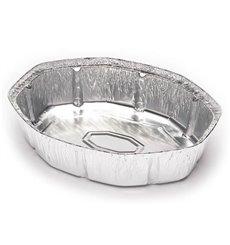 Bandeja de Aluminio 250x200mm 1900ml (125 Uds)