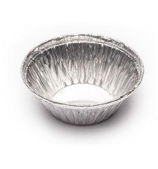 Envase de Aluminio Redondo Pasteleria 25ml (100 Uds)