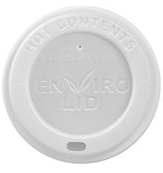 Tapa en PLA para Vaso Cartón 12, 16 y 22 Oz Ø9,0cm (1000 Uds)
