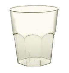 Vaso PLA Duro Biodegradable Transparente 350ml (20 Uds)