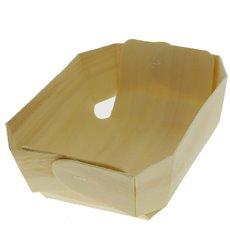 Molde de Madera para Horno 21,0x14,5x4,5cm (50 Uds)