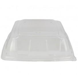 Tapa Plastico PET Transparente Bandeja 27x27cm (5 Uds)