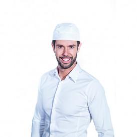 Gorro Cocinero Pirata Algodón Blanco (1 Ud)