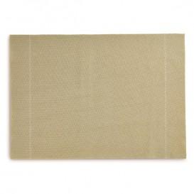 """Mantel Individual """"Day Drap"""" Gris-Verde 32x45cm (12 Uds)"""