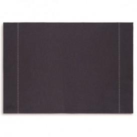 "Mantel Individual ""Day Drap"" Azul Oscuro 32x45cm (12 Uds)"