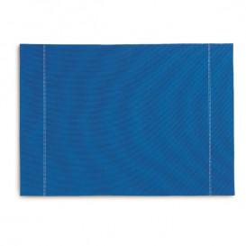 "Mantel Individual ""Day Drap"" Azul Royal 32x45cm (12 Uds)"