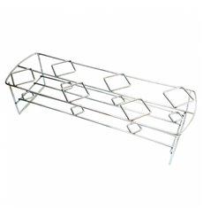 Cesta Presentación 6 Conos de  Acero 45x14x10,8cm (1 Ud)