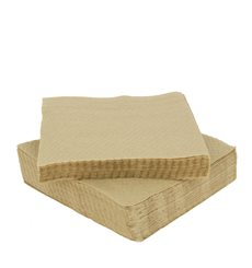 "Servilleta de Papel Eco ""Recycled"" 33x33cm 1C (100 Uds)"