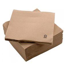 "Servilleta Papel Eco ""Recycled"" 20x20cm 2C P-P (100 Uds)"