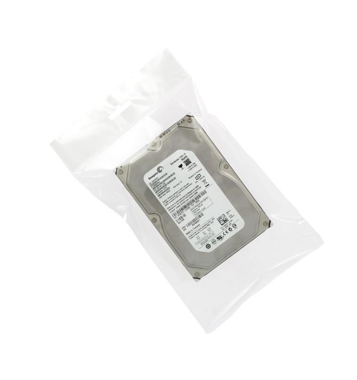 Bolsas POBB Solapa Adhesiva y Eurotaladro 8x12cm G160 (100 Uds)