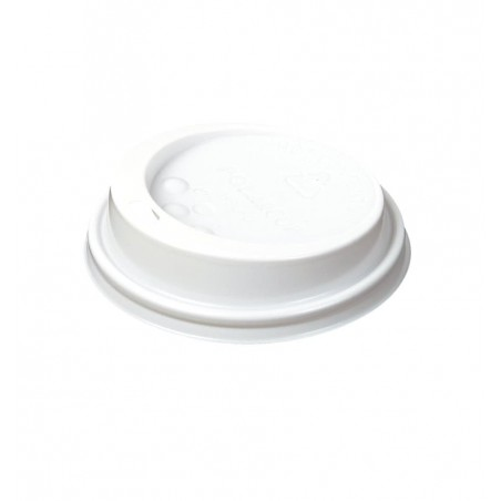 Tapa Agujero Blanca Vaso Carton 4oz/120ml (100 Unidades)