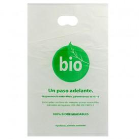 Bolsa Plastico Troquelada 100% Biodegradable 20x33cm (100 Uds)
