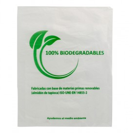 Bolsa Mercado 100% Biodegradable 30x40cm (100 Uds)