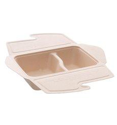 Envase MenuBox Caña de Azúcar 2C 21x15x5cm 800ml. (75 Uds)