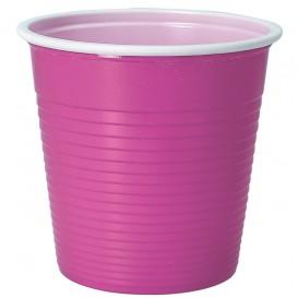 Vaso de Plastico PS Rosa 230 ml (30 Uds)