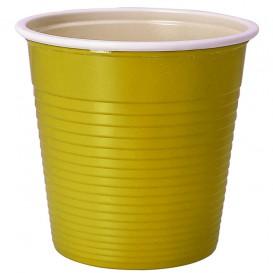Vaso de Plastico PS Amarillo 230 ml (30 Uds)