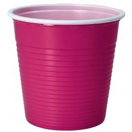 Vaso de Plastico PS Morado 230 ml (30 Uds)