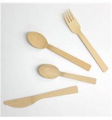 Cucharilla de Bambu 12cm (50 Uds)