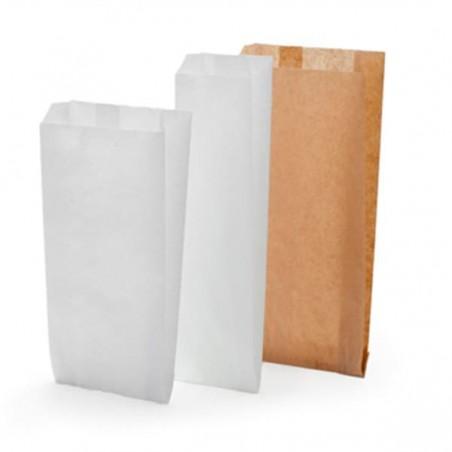 Bolsa de papel Kraft 12+6x20cm (250 Unidades)