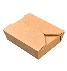 Caja Americana Pequeña Kraft 11,8x9x6,3cm 650ml (50 Uds)