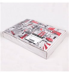 """Mantel Individual Papel 30x40cm """"Europa"""" 50g (500 Uds)"""