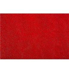 Mantel TNT Plus Rojo 100x100cm 60g (100 Uds)