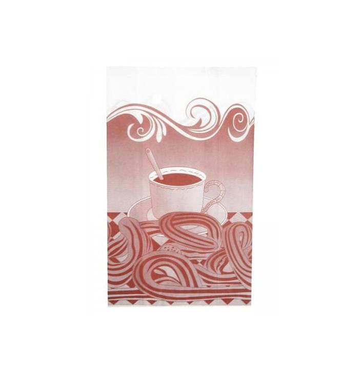 Bolsa para Churros Antigrasa 22+12x36cm (250 Uds)