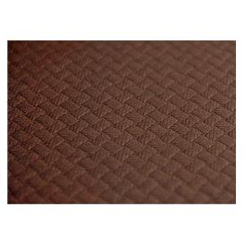 Mantel de Papel Cortado 1,2x1,2 Metro Marrón 40g (300 Uds)