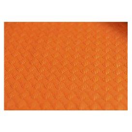 Mantel de Papel Cortado 1,2x1,2 Metro Naranja 40g (300 Uds)
