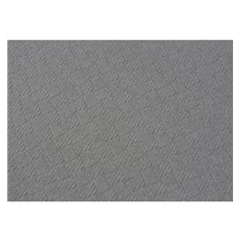 Mantel de Papel Cortado 1,2x1,2 Metro Gris 40g (300 Uds)