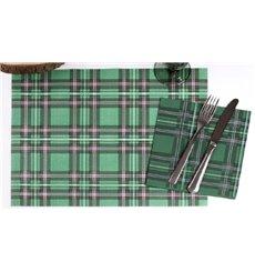 "Mantel Individual Papel 30x40cm ""Edinburgh"" 40g (1.000 Uds)"