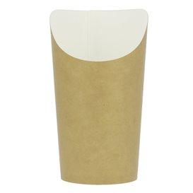 Vaso Desechable Antigrasa Carton Efecto Kraft Grande (55 Uds)