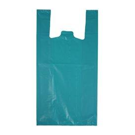 "Bolsa Plástico Camiseta 70% Reciclado ""Colors"" Azul 42x53cm G200 (40 Uds)"